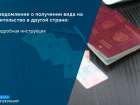 Уведомление о получении вида на жительство в другой стране: инструкция