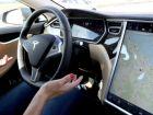 Tesla car - эта машина может и без водителя