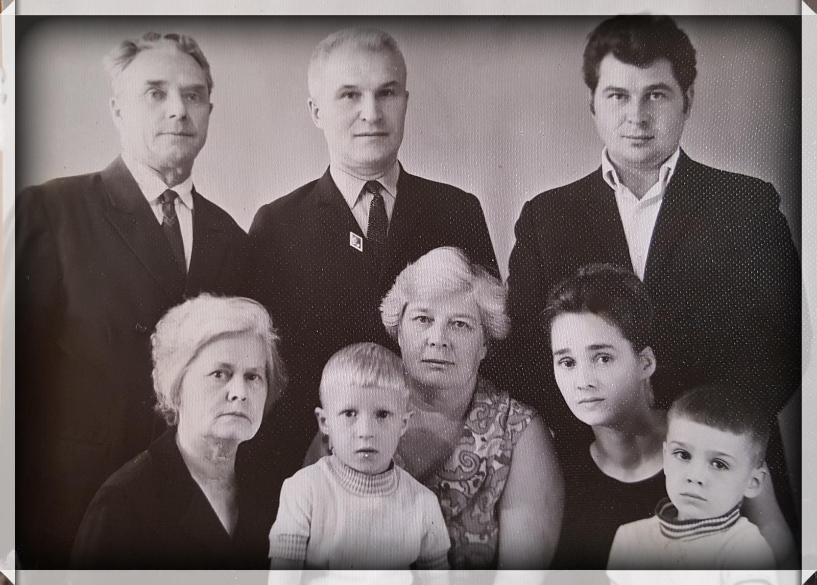 ОрдаМарафон. Моя семьЯ или люди, которые сделали меня. #3 Деды со стороны мамы