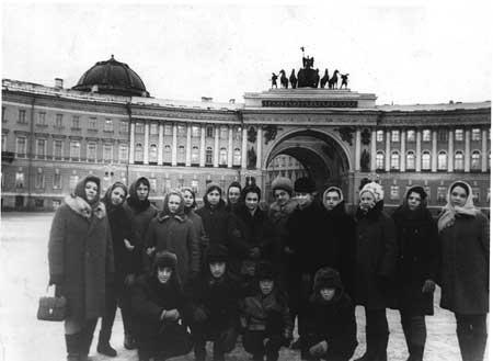 В память о далёком Ленинграде