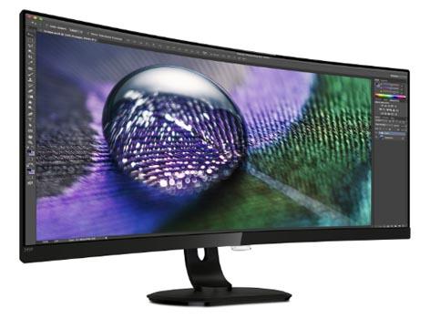 Новые мониторы Philips с USB-C док-станцией