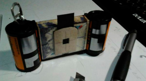DIY: Фотоаппарат из спичечного коробка