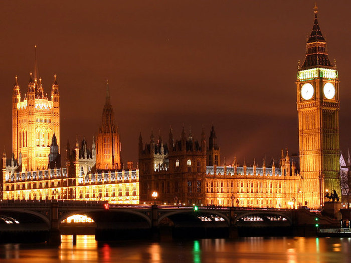 London is the capital of...
