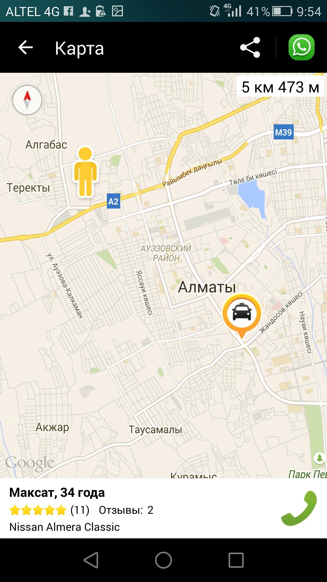 Обзор приложения для заказа такси Indriver