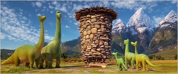Пролетит он мимо метеорит(Хороший динозавр)