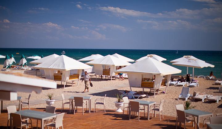 лазурный берег евпатория пляж фото