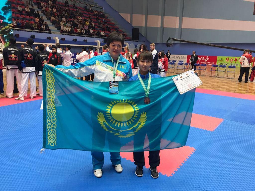 Таэквондисты из ВКО привезли медали с Чемпионата мира в Северной Корее