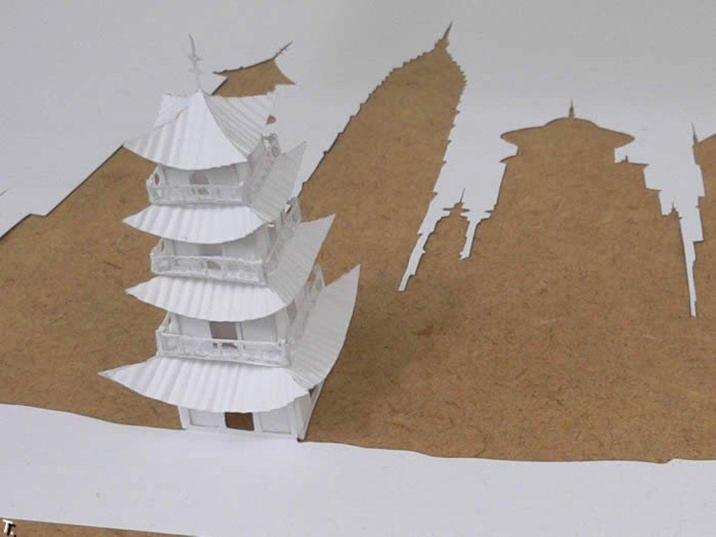 Японские Замки Из Бумаги - gpresurs