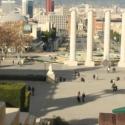 Вид сверху на площадь Испании