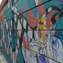 Расписные стены здесь повсюду
