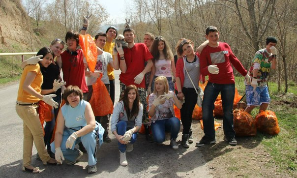 Чистая Родина 13 апреля: 300 участников, 3000 мешков мусора