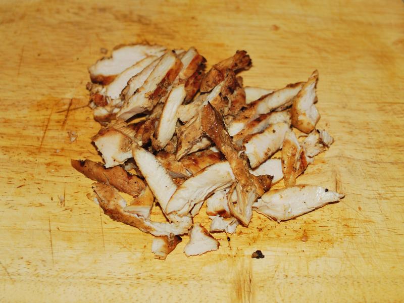 Кесадия с курицей гриль. Повтор