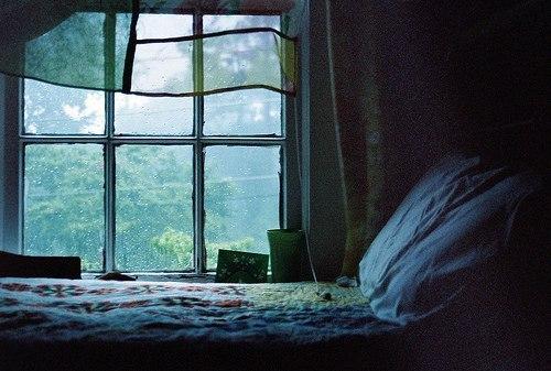 Музыка дождя за окном