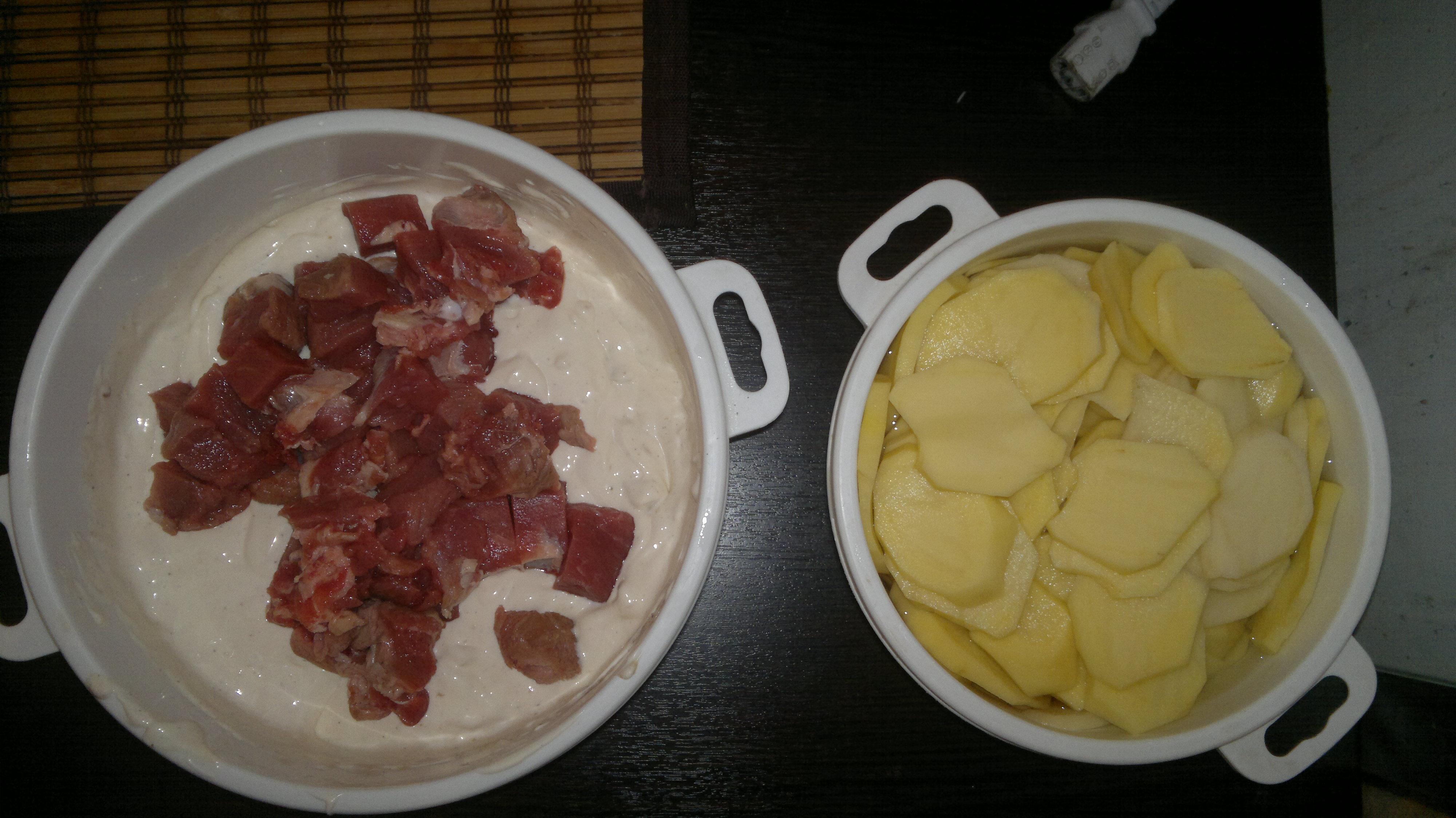 Омномном или Мясо по французски