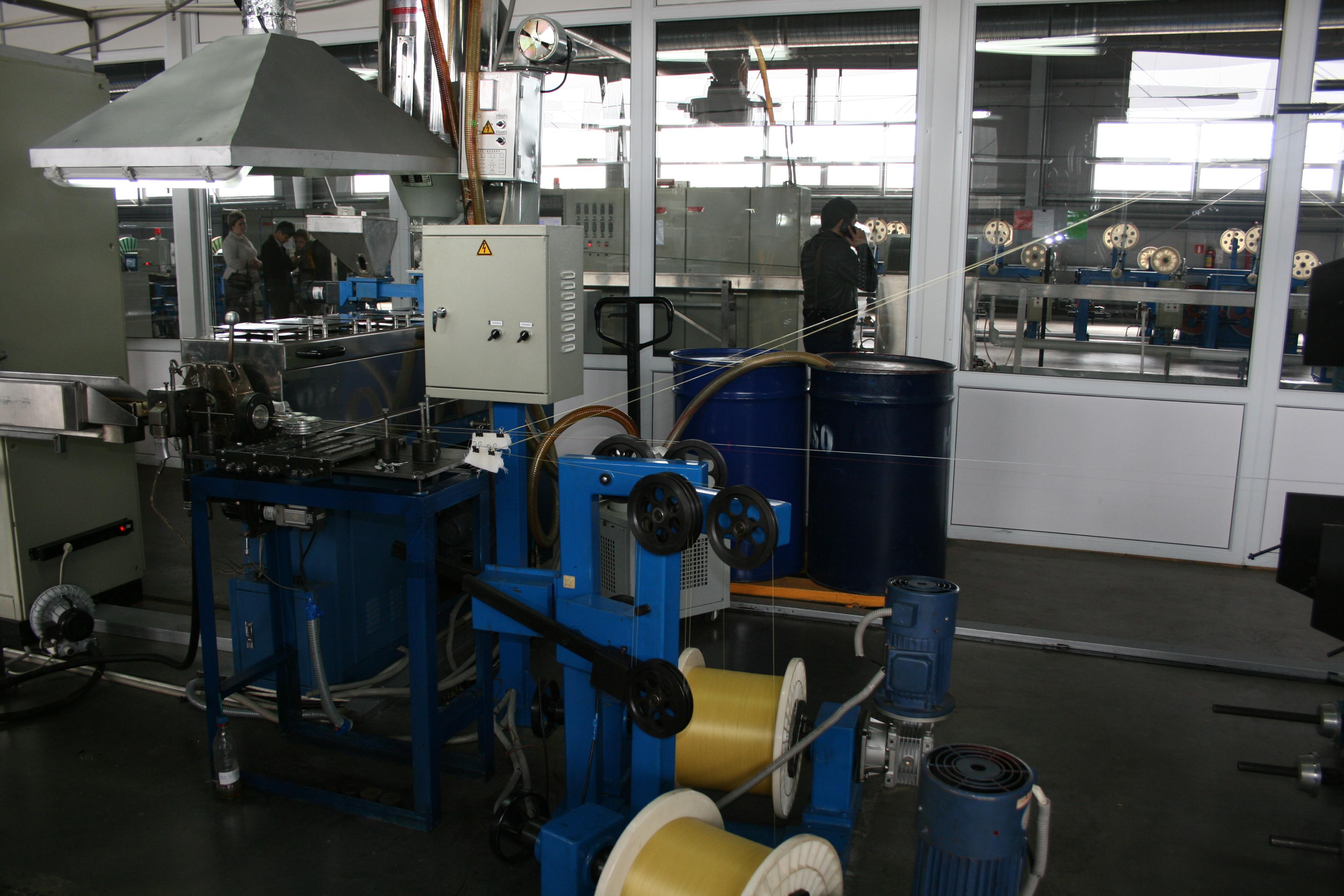 На производстве