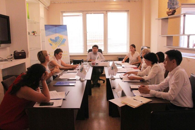 Заседание рабочей группы по гранту состоялось в Астане