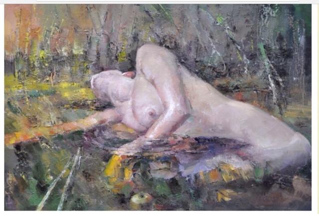 ..лежала дева попою в реке..