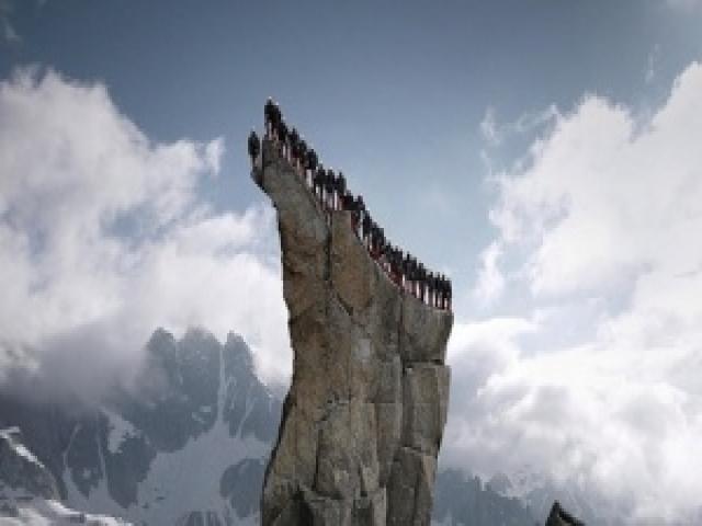 Лучше гор может быть только рекламная кампания на4000 метров вАльпах