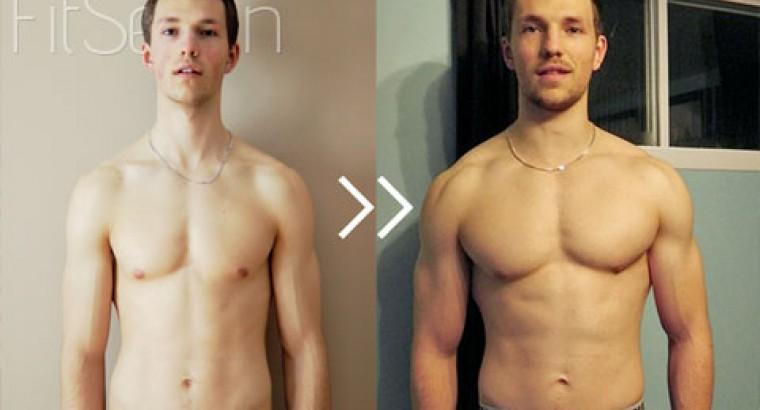 9 кг мышц за 3 месяца