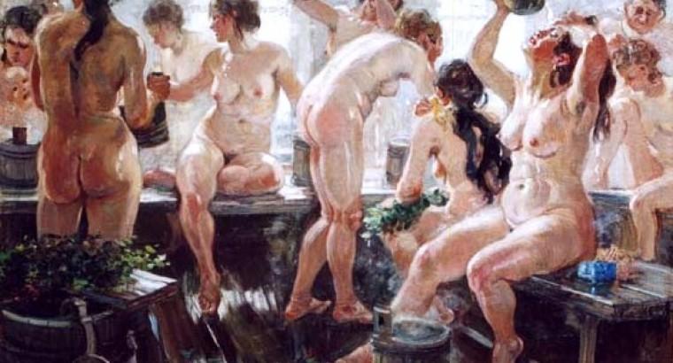 гей в русской бане