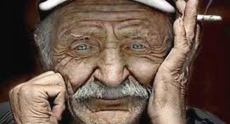 Одноногий старик