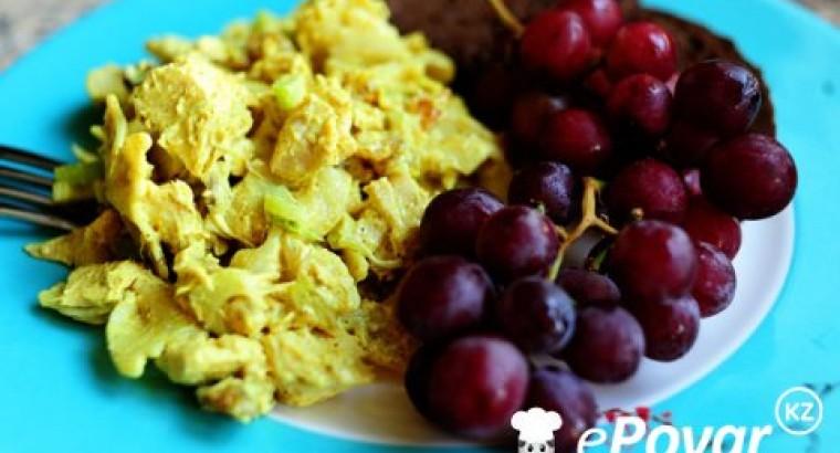 Ингредиенты к рецепту куриный салат