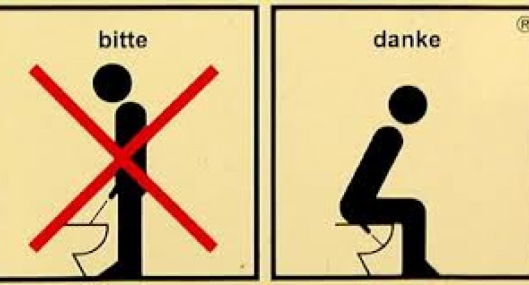 Почему мальчикам нельзя писать сидя