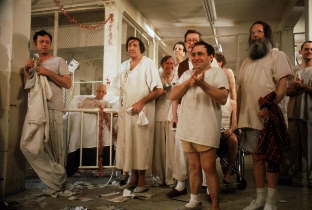 Обход в районной ордынской психиатрической больнице