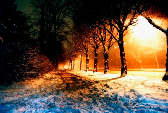 Шла четвёртая ночь зимы