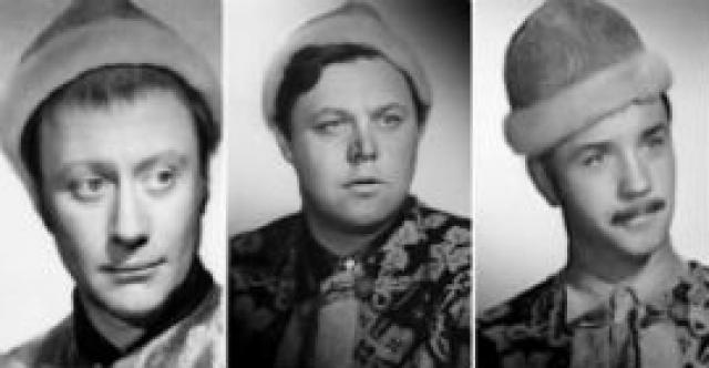 Такого кастинга ты еще не видел! Редкие архивные фотопробы известных советских актеров.
