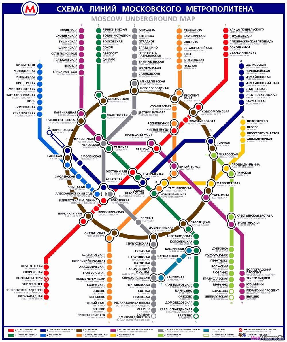 В будущем схема метро фото 697