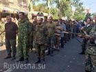 Бесславные ублюдки-2. Украинская армия прошла парадом по Донецку