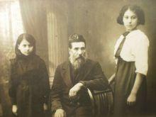 Старинное фото намба уан. Владимир Иульянович и девочка Оля.
