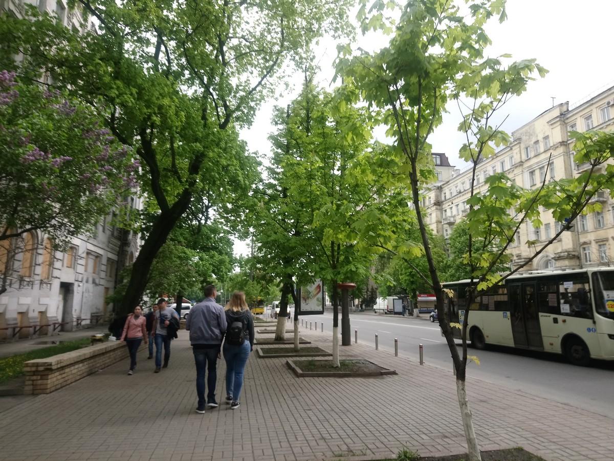 Киев. Часть 2. Аллея героев, парк воинской славы