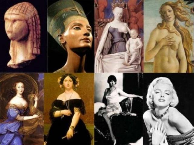 Красота человека в искусстве