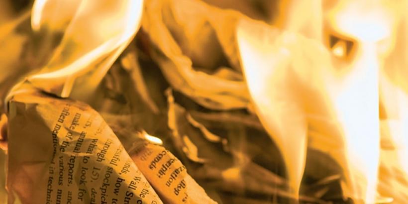 Рукописи, блять,  горят!