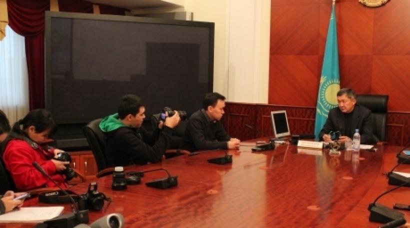 Встреча блогеров с Мухамеджановым Бауржаном