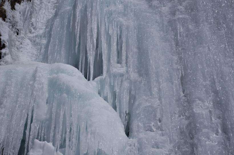 Зимняя сказка Бутаковского ущелья