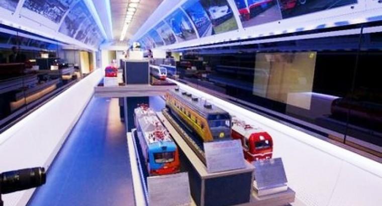 В Астану прибыл инновационный поезд из России