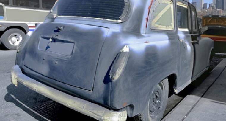 Основные этапы шпатлевания автомобиля