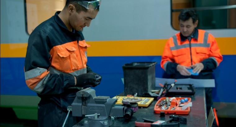 В Астане начнут производить дизельные двигатели «GEVO» для локомотивов