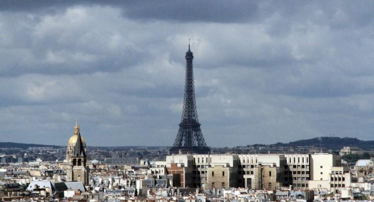 Париж. С высоты Нотр дама