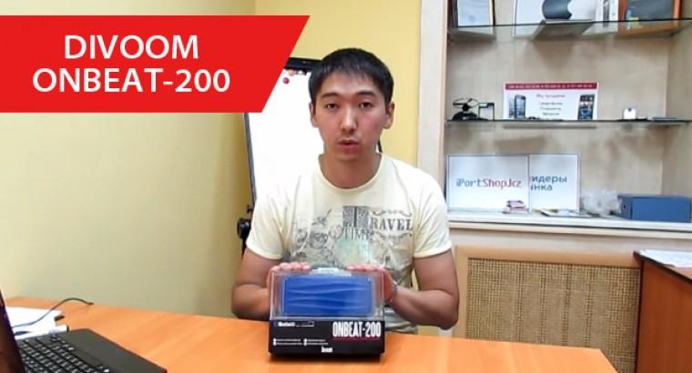 Обзор Bluetooth-колонки Divoom ONBEAT-200