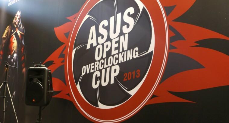 Результаты финала ASUS OPEN OVERCLOKING CUP 2013