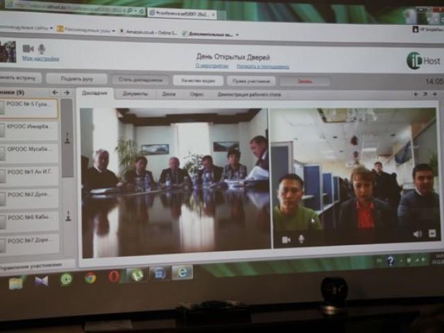 Видео-конференция с использованием облачных технологий