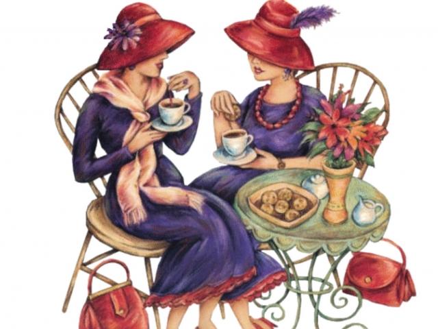 Встреча друзей открытки