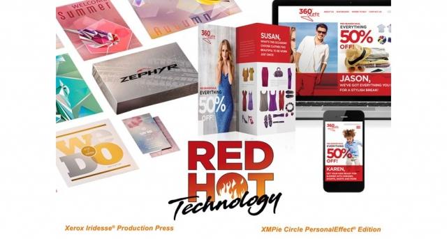 Компания Xerox получила семь наград RED HOT Technology