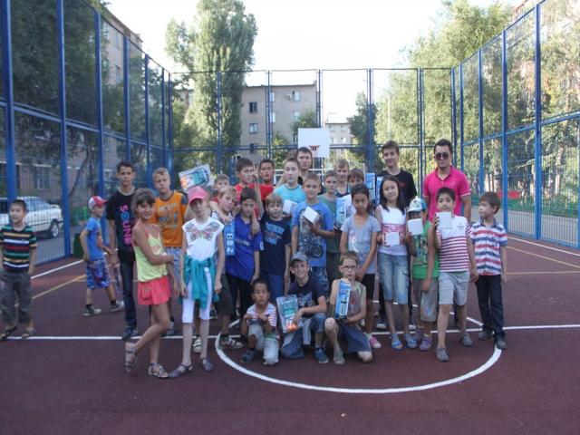 В Алматы прошли детские спортивные соревнования «Веселые старты»