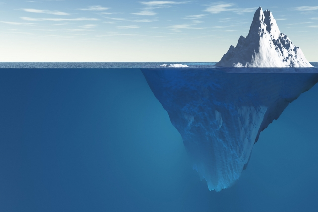 Как айсберг в океане